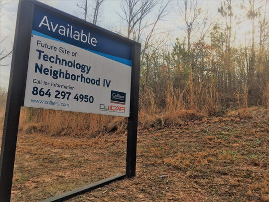 Four of the five so-called Technology Neighborhoods at Clemson University's auto research campus in Greenville remain undeveloped.