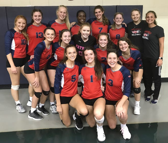 Powdersville's volleyball team defeated Chapman Monday night to claim its second straight Class AAA Upper State championship.
