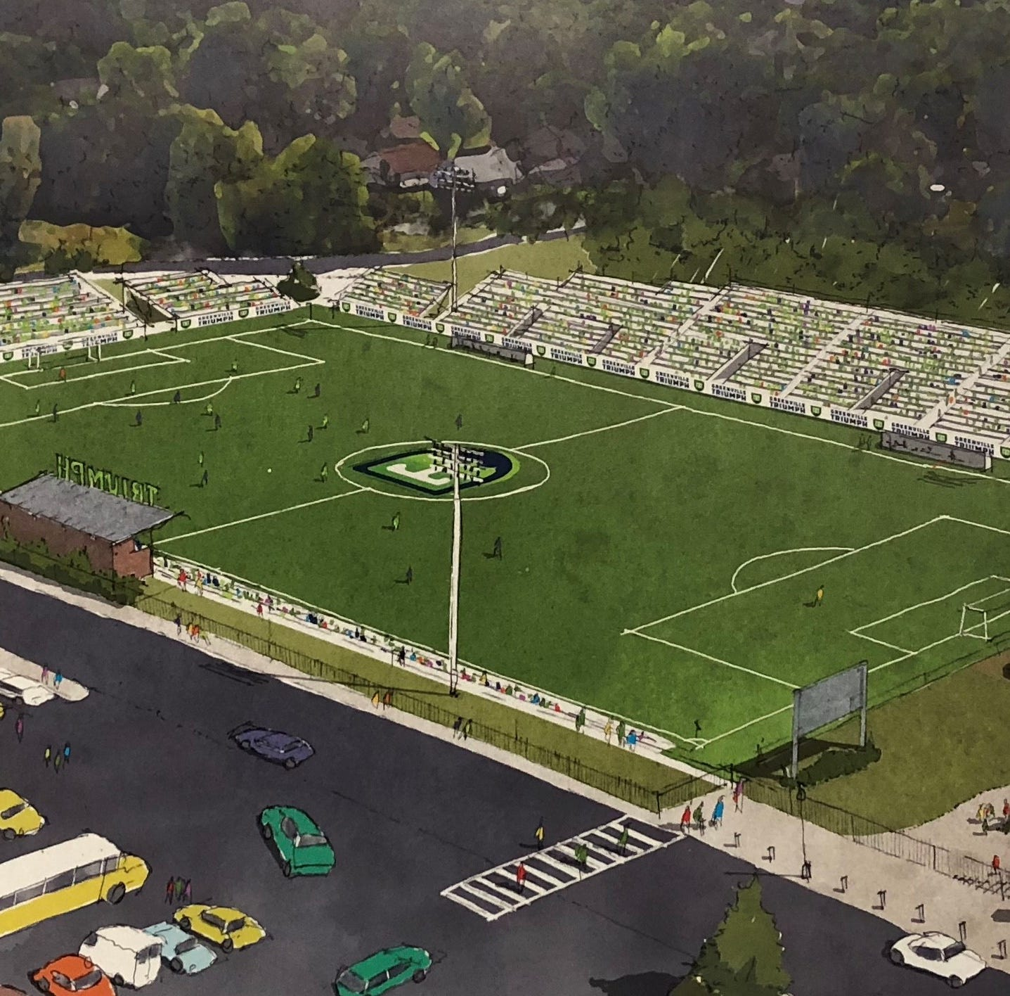 Greenville's new soccer team set to make its first home in City View