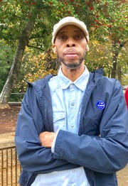 Gregory Hawkins voted at West Greenville Community Center.