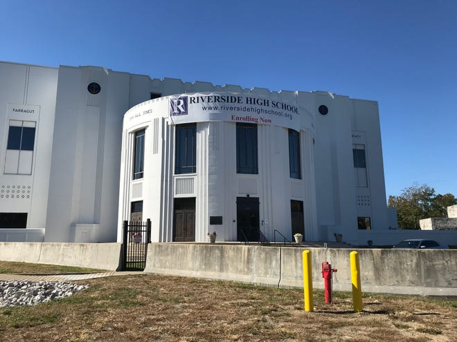 Riverside High School moved into the old Heslar Naval Armory building this year.