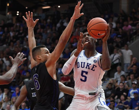 Ncaa Basketball Preseason Duke At Ryerson University