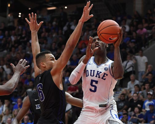 Ncaa Basketball Preseason Duke At Ryerson University