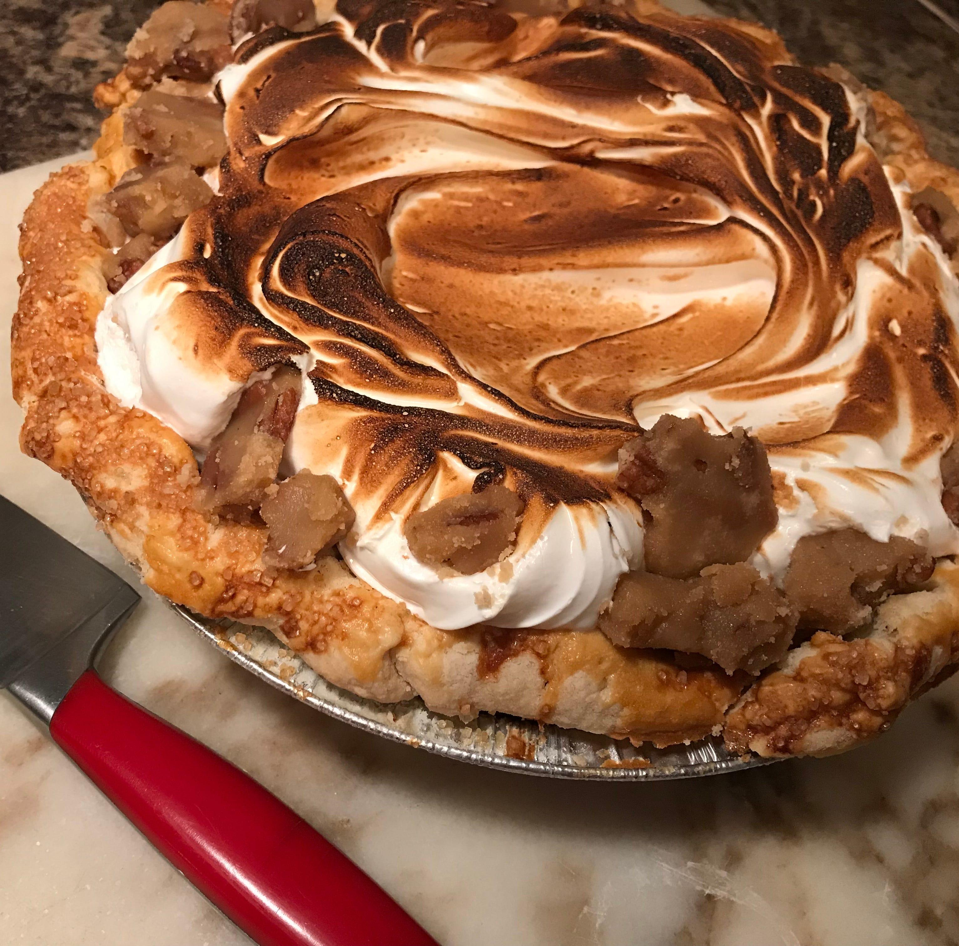 Toasted marshmallow sweet potato pie by Pots &...