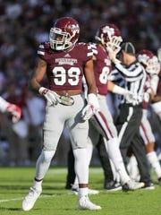 Senior corner Jamal Peters worse No. 99 instead of his usual No. 2 against Alabama in 2015 to honor his fallen teammate and best friend, Keith Joseph Jr.