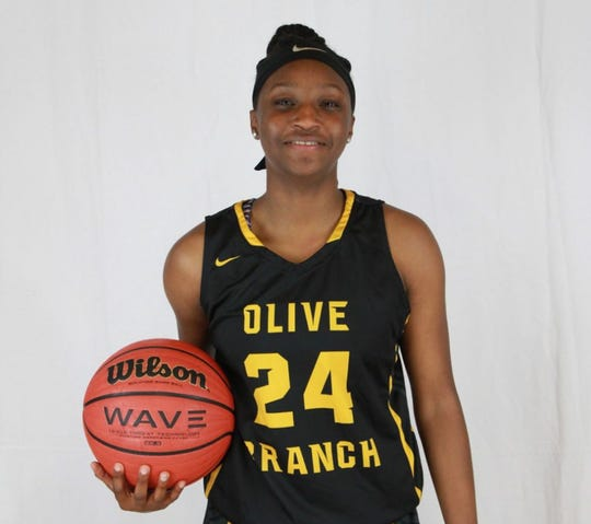 Olive Branch guard Endya Buford is a member of the 2019 Dandy Dozen.
