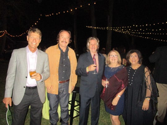 Kurt Caeleton, Jim McGehee, Robbie and Julie Bush and Penny McGehee
