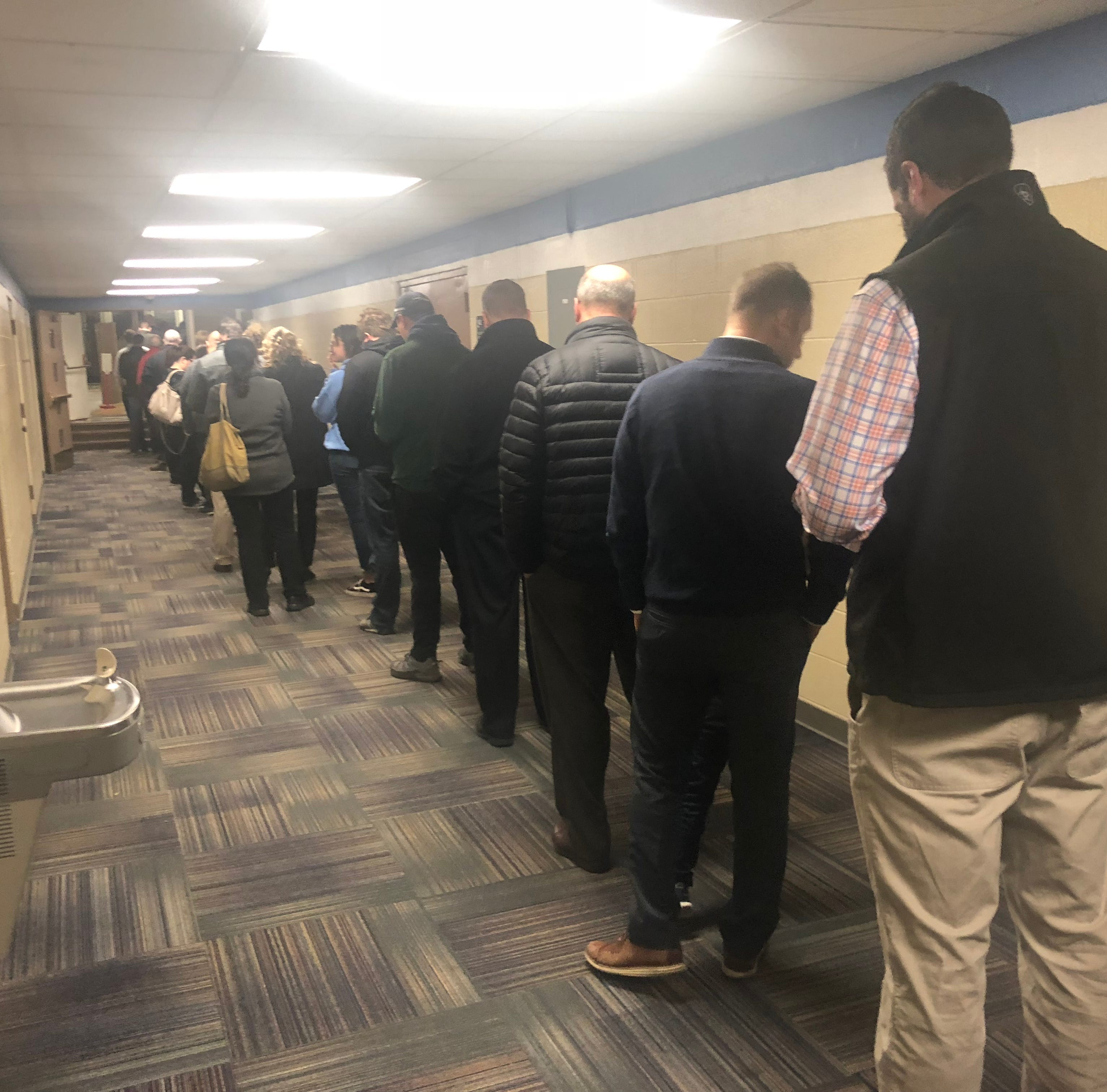 As the counting begins, Livingston County could approach 80% turnout