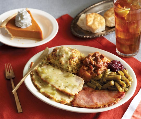 Cracker Barrel is offering a Homestyle Turkey n' Dressing meal on Thanksgiving Day for in-store customers.