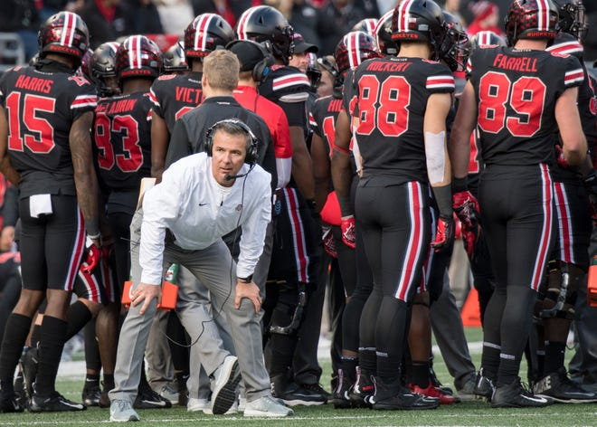 Ohio State coach Urban Meyer has been looking for a balanced offense and balancing health issues with coaching.