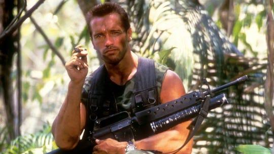 "It's Arnold vs. alien when ""Predator"" stalks the Summer Drive-In screen during Saturday's ""Time Warp Drive-In"" marathon."
