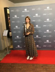 "Here comes the Bridey: Writer-director Bridey Elliott won the Indie Memphis Best Narrative Feature Award for ""Clara's Ghost."""