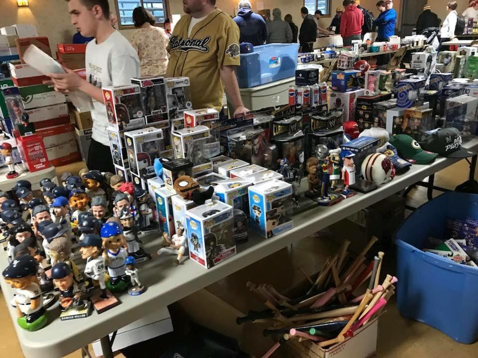 John Jastroch will be putting on the third Bobblepalooza, a show dedicated to bobbleheads, from noon to 5 p.m. Nov. 18 at the New Berlin Veterans of Foreign Wars post in New Berlin.