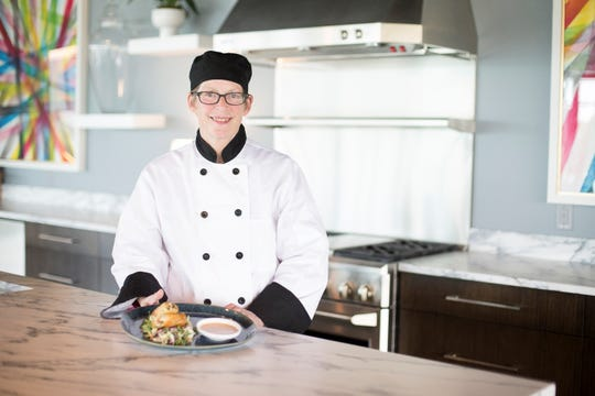 "Catering director Katie Pandl was ""born and raised in the restaurant business."""