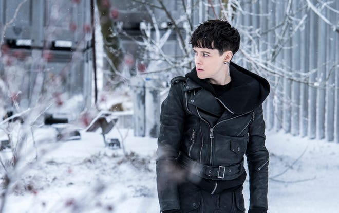"Claire Foy takes on the role of Lisbeth Salander in ""The Girl in the Spider's Web."""