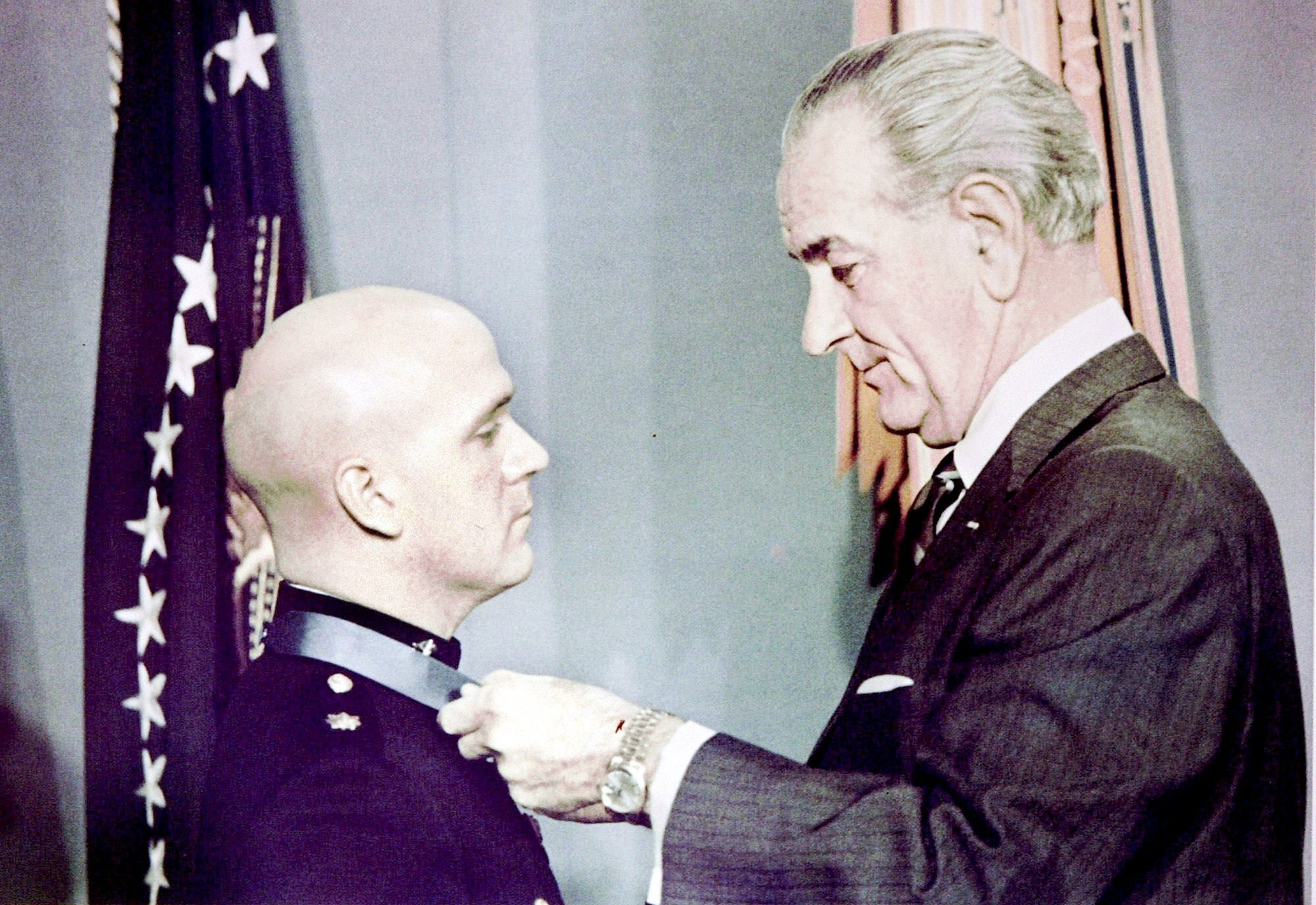 Robert Modrzejewski Lyndon Johnson Medal of Honor