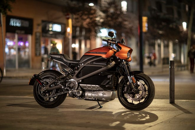 Harley-Davidson on Tuesday unveiled a production-ready version of its electric motorcycle that's expected to be available for sale in 2019.