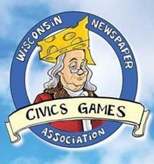 Wisconsin Civics Games logo