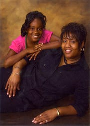 Tiffany Tate and her daughter, Octayvia Fountain.