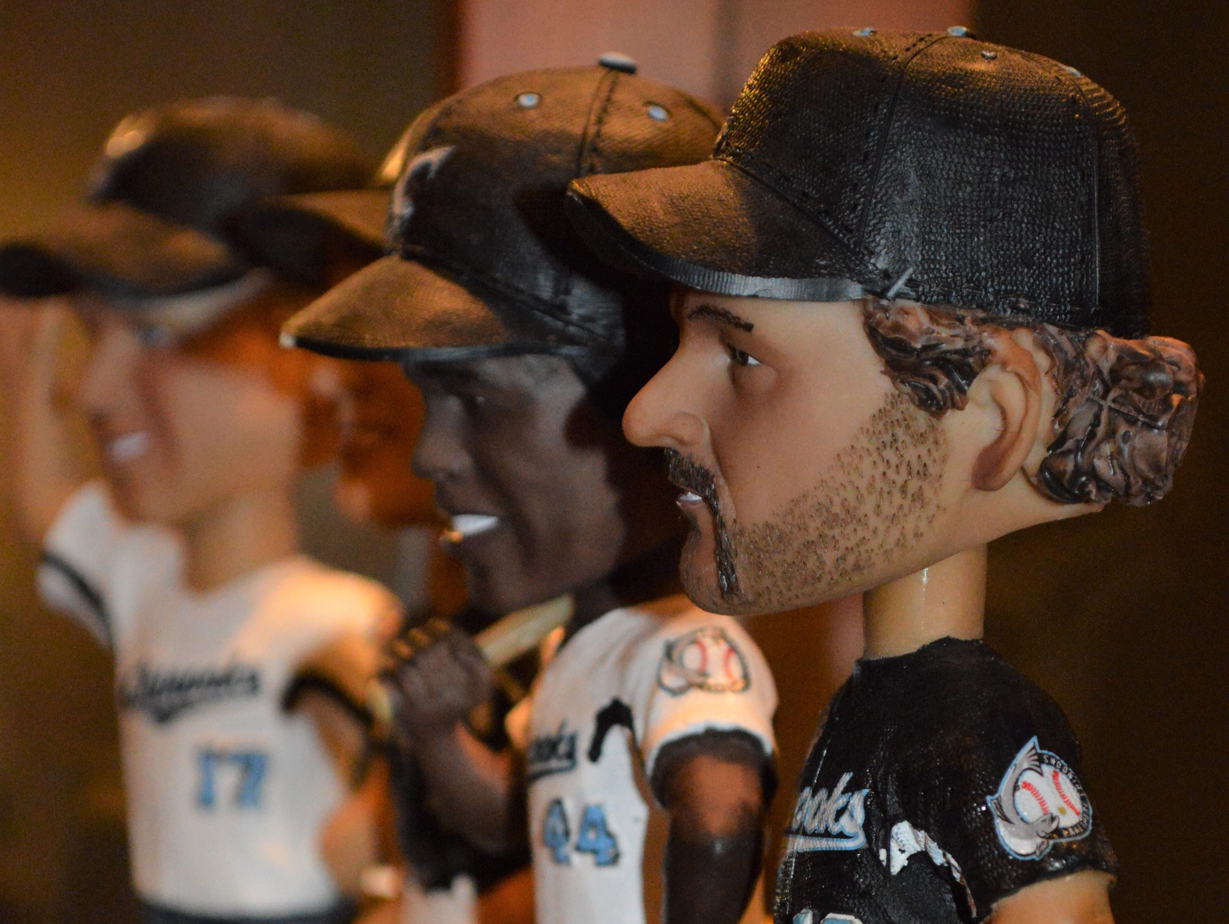 John Jastroch started collecting bobbleheads in 2007.