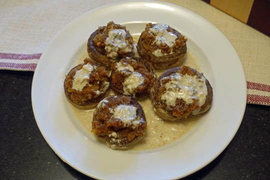 Nana's Stuffed Mushrooms is a recipe from Rob Kujawski's grandmother.