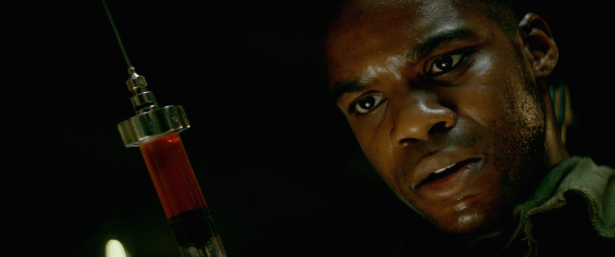 "Jovan Adepo plays an American soldier whose mission behind enemy lines before D-Day yields a gruesome and deadly discovery in ""Overlord."""