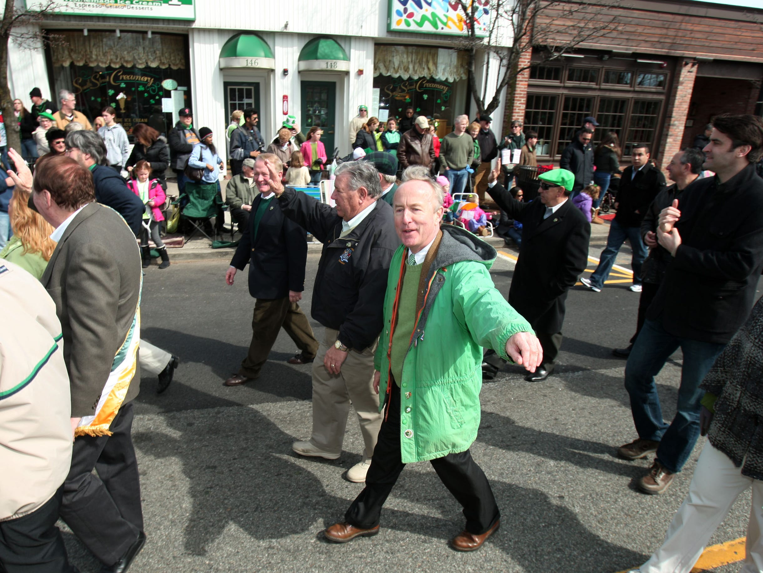 Rep. Rodney Frelinghuysen, R-N.J., wears green for the day.