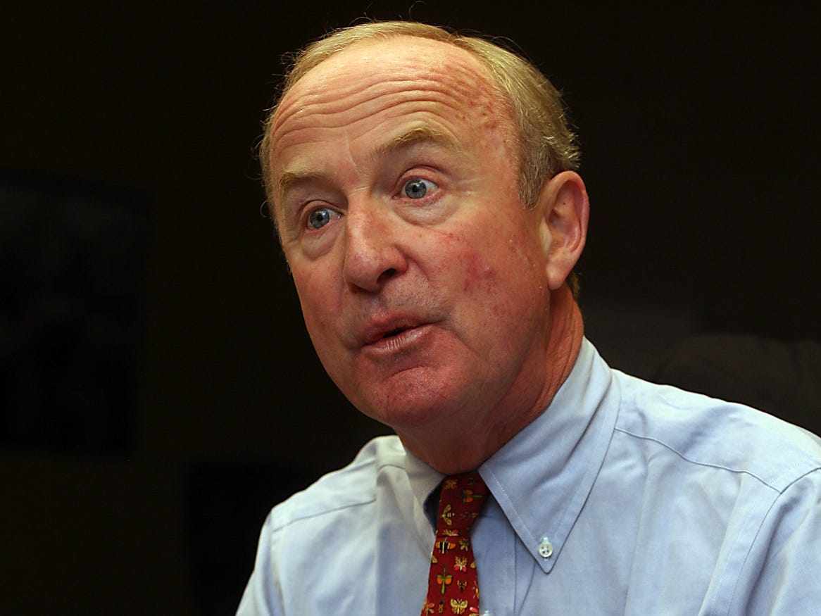 Parsippany, Oct. 21, 2010 --Congressman Rodney Frelinghuysen during a Daily Record edit board meeting.