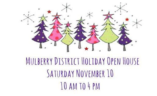 Mulberry District Holiday Open House