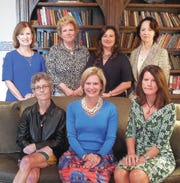 Left to right: Back row - Caroline Lawson, Catherine Woodson, Michelle Shaw, Jean Smyth; Front row: Mary Ward Wisnewski, Virginia Banister, Betsy Cannon