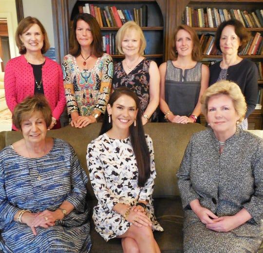 Left to right: back row - Caroline Lawson, Betsy Cannon, Debbie Wakefield, Ashley Hamlett, Jean Smyth; front row - Debbie Schremser, Emily Wise, Catherine Woodson.