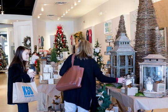 Shoppers browse at the first ever Pop-Up Shoppe at EastChase in 2017.  The Shoppe will be open starting on Black Friday, and then on Saturdays and Sundays through Dec. 24, and following the hours of 10 a.m. to 7 p.m. on Saturday, and 1 p.m. to 6 p.m. on Sunday.