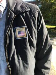 Sam Schaefer, 24, voted on Tuesday, Nov. 6, 2018, at Central Magnet School.
