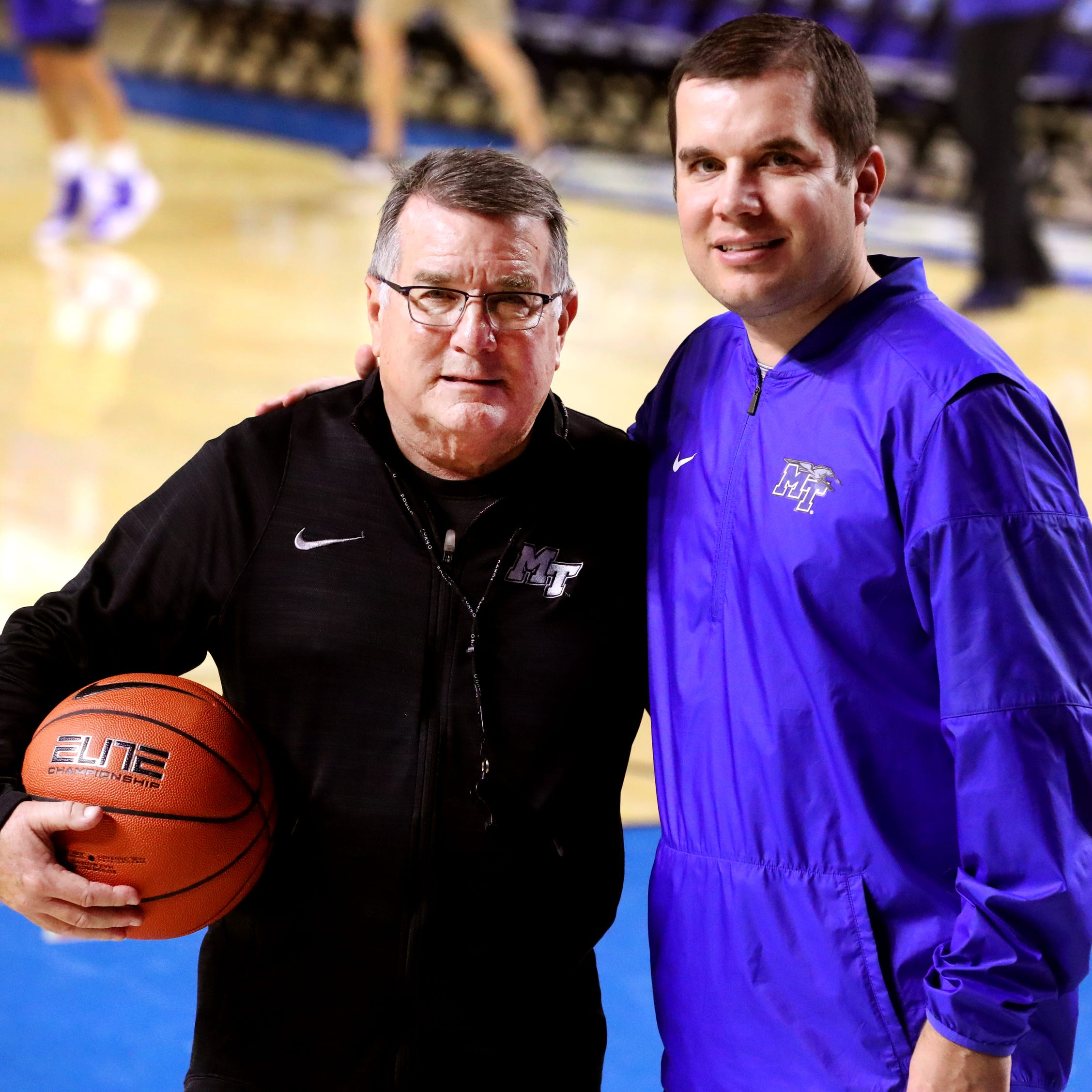 How Matt Insell reunited with his father, Rick Insell, at MTSU