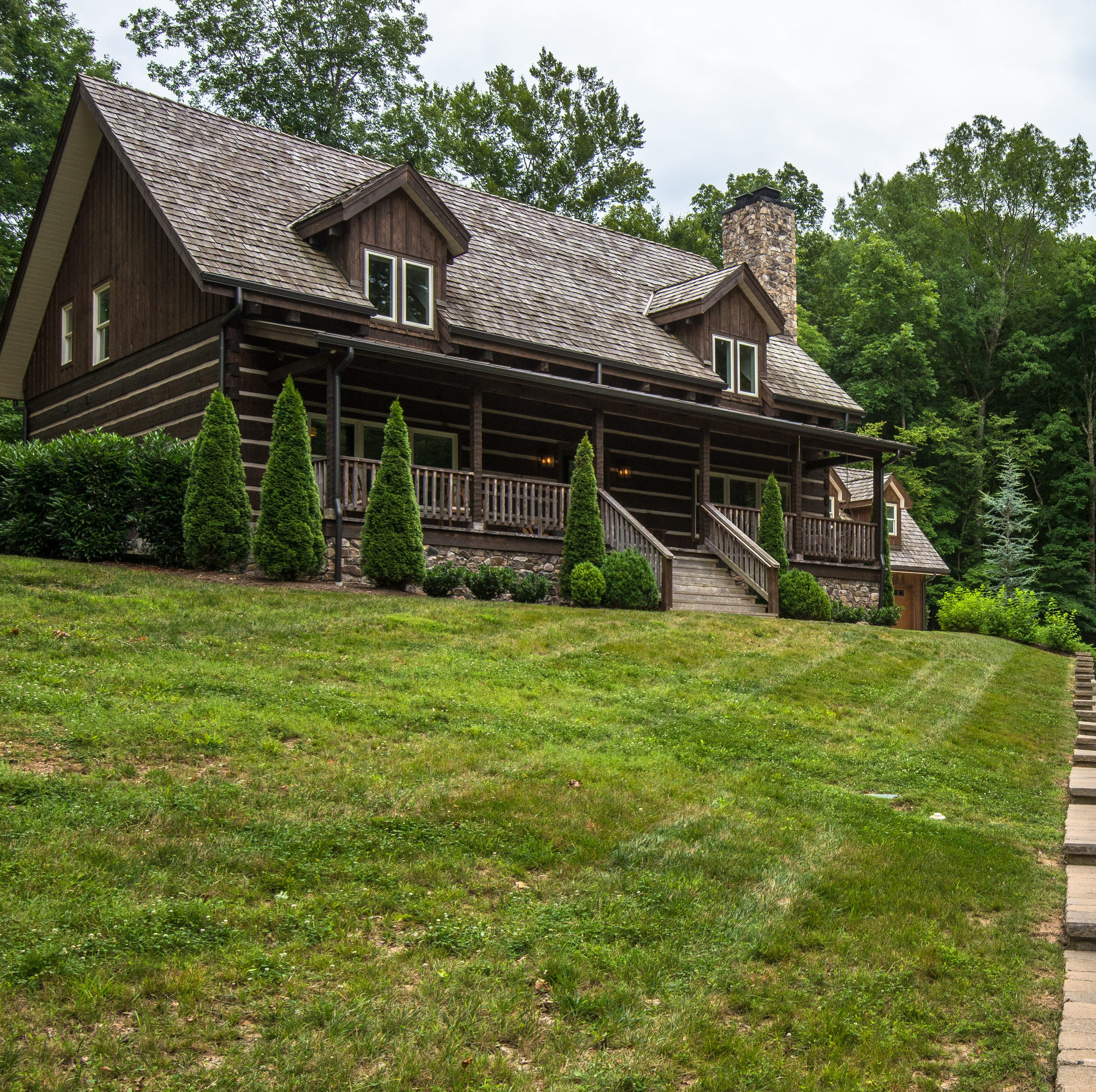 Guitarist's log cabin and sprawling 'town farm' among Nashville's November luxury listings