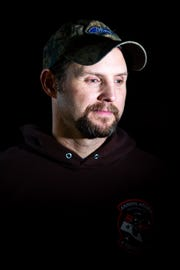 Jeremy Miller, 41, served in the Army, including three tours in the Middle East.