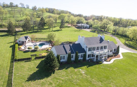 Key to marketing this unique, 10-acre property in Brentwood is an aerial photo, says Lisa Culp Taylor, LCT Team – Parks.