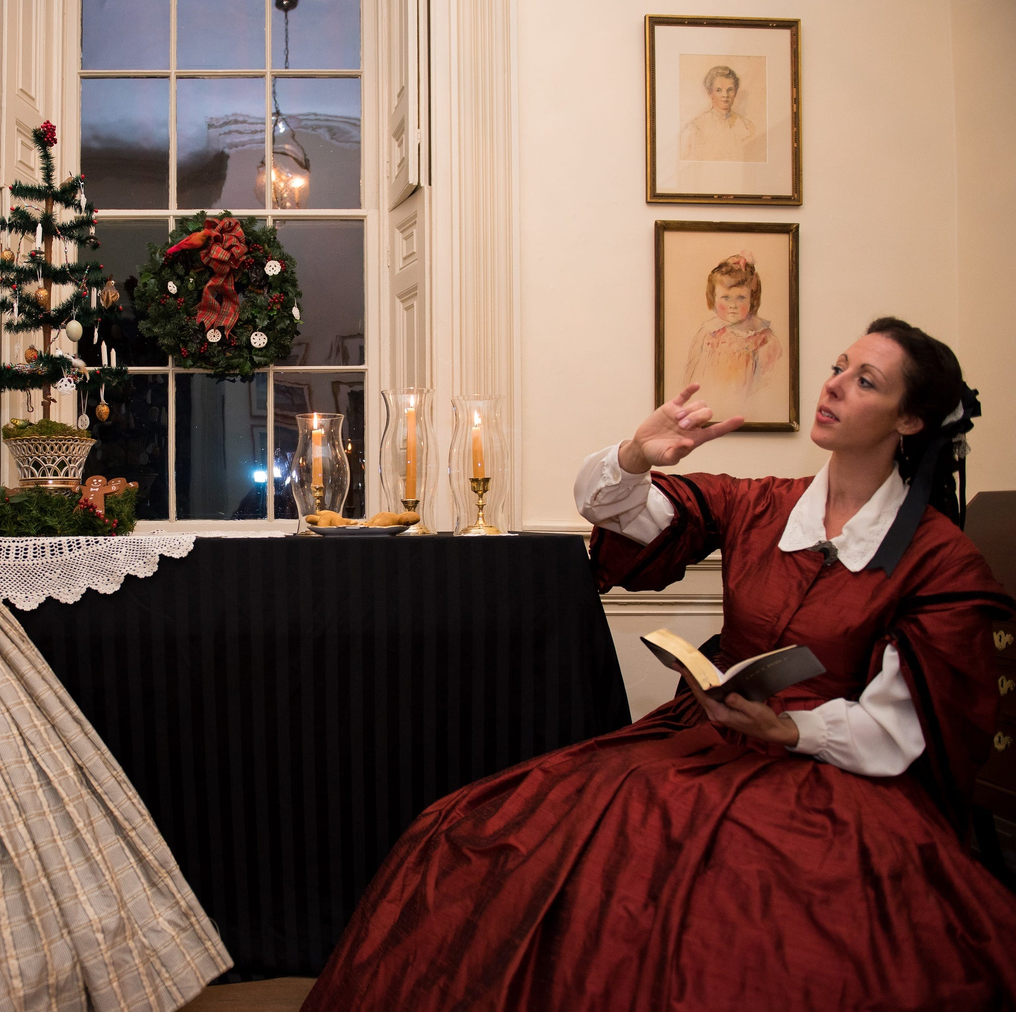 Experience Christmases past with holiday tours of antebellum homes