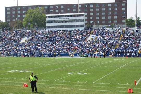 Tennessee State will play its first game this season at Hale Stadium when No. 8 Jacksonville State visits Saturday.