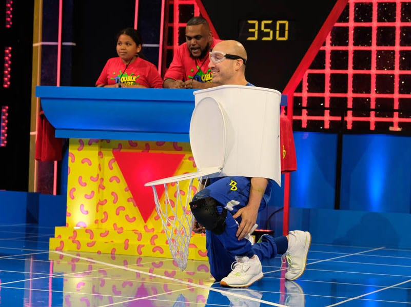 The classic Nickelodeon game show 'Double Dare' has been revived for a new generation.