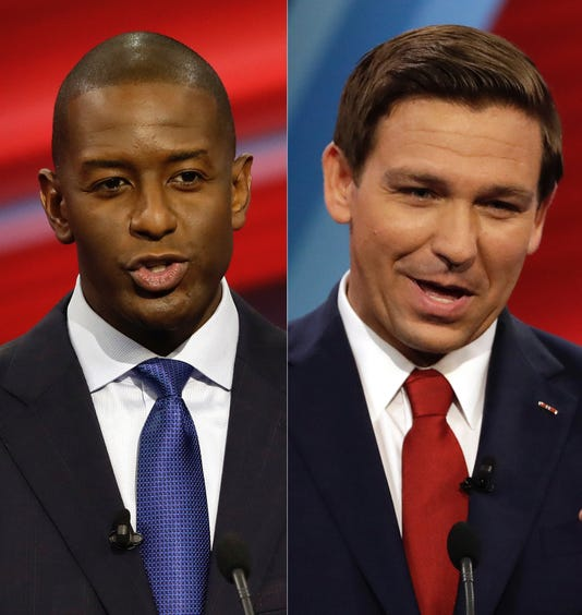Desantis and Gillum