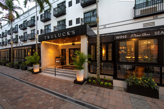 Truluck's, 698 Fourth Ave. S., Naples, reopened for business Oct. 16 after an extensive renovation of the interior and exterior of the restaurant and bar.