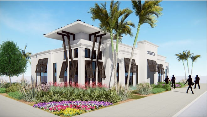 Apermanent on-site sales center at Ronto's Eleven Eleven Central is on schedule for completion by the end of the year.