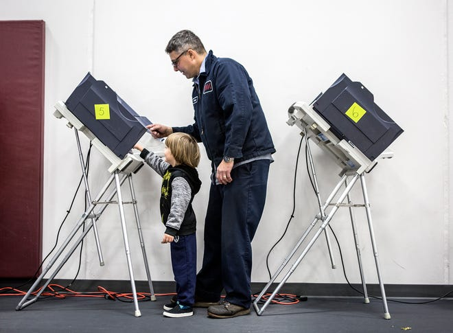 Ohio Secretary of State Frank LaRose joined his counterparts in Arizona, Florida and Illinois on Friday in a joint statement affirming that their states' primary elections would go on as planned Tuesday.
