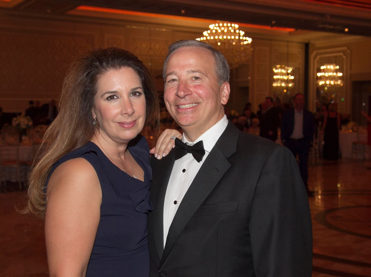 Phil and Annistsa Phillion. Saint John the Theologian 50th Anniversary gala Dinner at The Venetian in Garfield. 10/04/2018