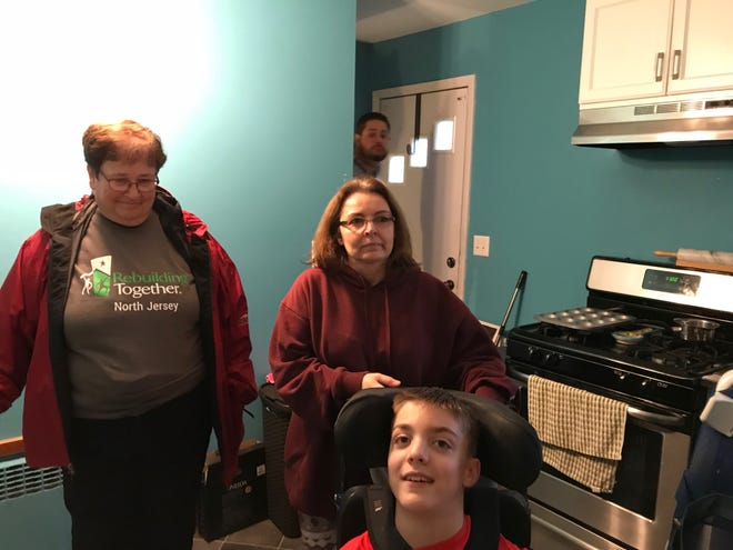Tracy and Matthew Kulick got a hand from Rebuilding Together North Jersey to get work done on making their Totowa home more accessible.