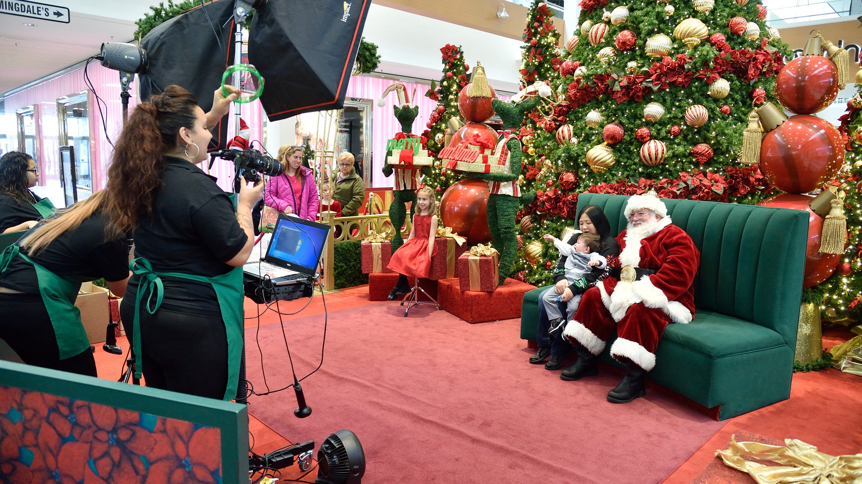 Taking your kids to see Santa at the mall?