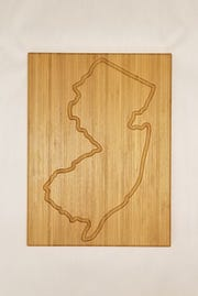 For the proud Jerseyan, a cutting board