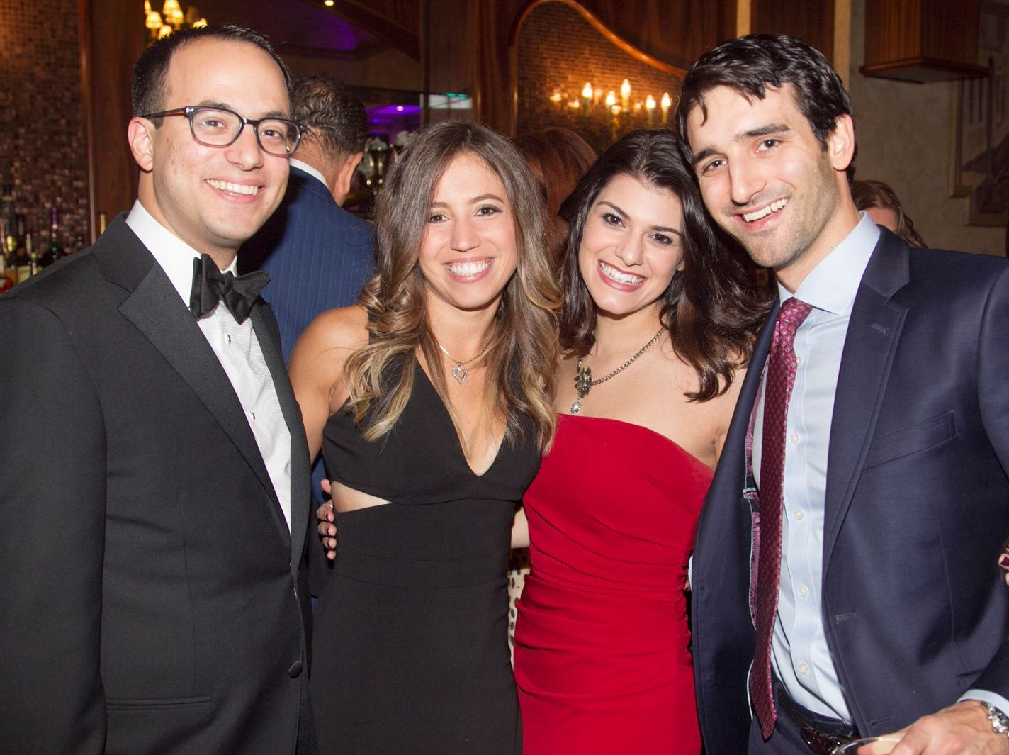 George Soussou, Sophia Zigouras, maria Hera, Alexandros DiPlas. Saint John the Theologian 50th Anniversary gala Dinner at The Venetian in Garfield. 10/04/2018