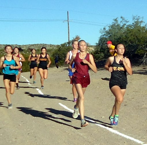 Deming High cross-country runners competed at District 3-6A championship races